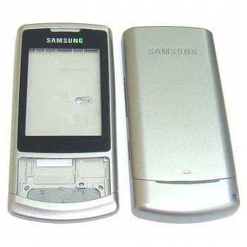 Корпус Samsung S3500 серебристый