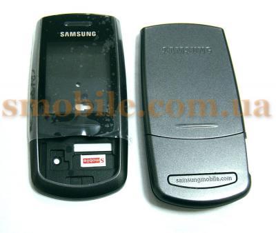 Корпус Samsung M600 черный