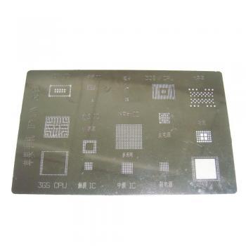 Трафарет BGA iPhone 3GS A319 (17 в одном)