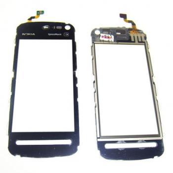 Сенсорный экран Nokia 5800 черный (копия)