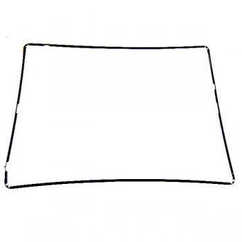 Пластиковая рамка под сенсор iPad 2 черная