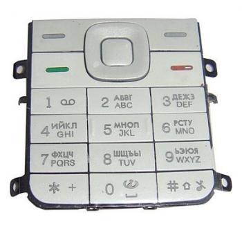Клавиатура Nokia 5310 белая (рус/англ)