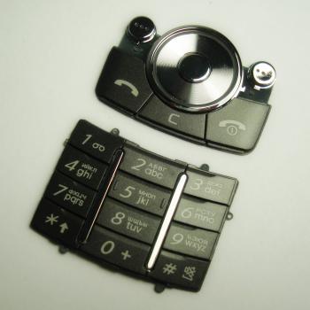 Клавиатура Samsung G600 серая (рус/англ)