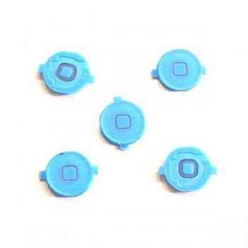 Кнопка HOME внешняя для iPhone 4 синяя