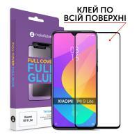 Защитное стекло MakeFuture для Xiaomi Mi 9 Lite полноэкранное, черное