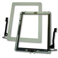 Сенсорный экран iPad 4 белый + шлейф кнопки HOME (оригинальные комплектующие)