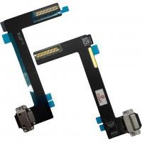 Шлейф iPad Air 2 + разъем зарядки черный (оригинал)