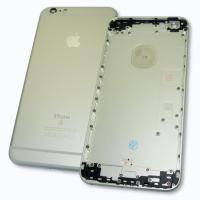 Задняя крышка корпуса iPhone 6S Plus серебристая + внешние кнопки и держатель SIM карты (копия AAA)