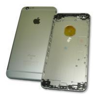 Задняя крышка корпуса iPhone 6S Plus серая + внешние кнопки и держатель SIM карты (копия AAA)