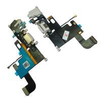 Шлейф iPhone 6 + разъемы зарядки и под наушники белые (оригинальные комплектующие)