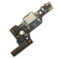 Разъем зарядки Huawei P9 на плате с микрофоном и компонентами (копия AAA)