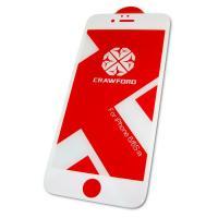 Защитное закаленное стекло XO FD1 для iPhone 6 / 6S полноэкранное белое 0.26 мм 3D (оригинал)