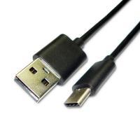Type-C кабель зарядки и синхронизации Xiaomi черный (120 см, без упаковки) (оригинал)
