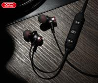 Bluetooth наушники XO BS5 Sports Magnetic серебристые