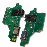 Разъем зарядки Huawei P20 Lite на плате + разъем под наушники и микрофон (оригинальные комплектующие)