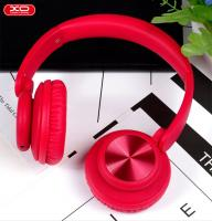 Bluetooth наушники XO B24 On-Ear CD design красные