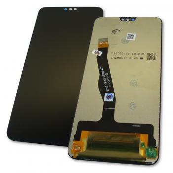 Дисплей Huawei Honor 8X + сенсор черный (оригинальные комплектующие)