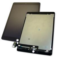 """Дисплей iPad Pro 9.7"""" + сенсор черный и шлейф на плату (оригинальные комплектующие)"""