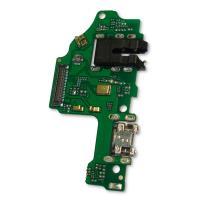 Разъем зарядки Huawei Honor 8X на плате + разъем под наушники и микрофон (копия AAА)