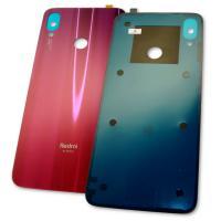 Стекло задней крышки Xiaomi Redmi Note 7 красное (оригинальные комплектующие)