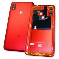 Задняя крышка, корпус Xiaomi Redmi Note 6 Pro красный (оригинал Китай)