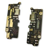 Разъем зарядки Xiaomi Mi A2 Mi6X на плате с микрофоном и компонентами (копия AAA)