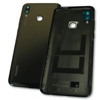 Задняя крышка, корпус Huawei P Smart 2019 черная, с внешними кнопками (оригинал Китай)