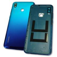 Задняя крышка, корпус Huawei P Smart 2019 синяя, с внешними кнопками (оригинал Китай)