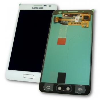 Дисплей Samsung A300F A300G Galaxy A3 2014 + сенсор белый (оригинал 100%)