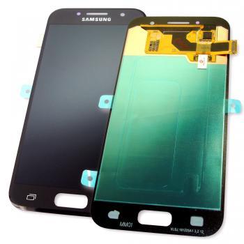 Дисплей Samsung A320F A320FL Galaxy A3 2017 + сенсор черный (оригинал 100%)