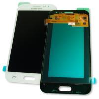 Дисплей Samsung J200F J200G Galaxy J2 2015 + сенсор белый GH97-17940A (оригинал 100%)
