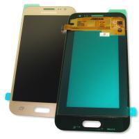Дисплей Samsung J200F J200G Galaxy J2 2015 + сенсор золотистый GH97-17940B (оригинал 100%)