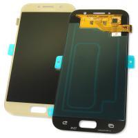 Дисплей Samsung A520F Galaxy A5 2017 + сенсор золотистый GH97-19733B (оригинал 100%)