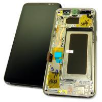 Дисплей Samsung G950F G950FD Galaxy S8 + сенсор и рамка, золотистый GH97-20457F (оригинал 100%)