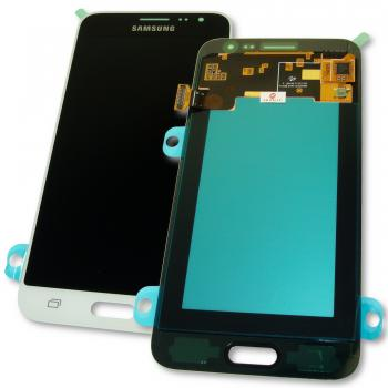 Дисплей Samsung J320F J320G Galaxy J3 2016 + сенсор белый GH97-18414A (оригинал 100%)