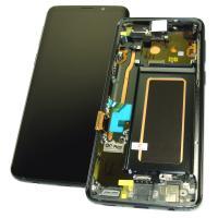 Дисплей Samsung G960F G960F/DS Galaxy S9 + сенсор и рамка, серый GH97-21696C (оригинал 100%)