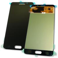Дисплей Samsung A710F A710FD Galaxy A7 2016 + сенсор черный GH97-18229B (оригинал 100%)