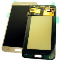 Дисплей Samsung J700F J700H Galaxy J7 2015 + сенсор золотистый GH97-17670B (оригинал 100%)