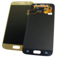 Дисплей Samsung G930F G930FD Galaxy S7 + сенсор золотистый GH97-18523C (оригинал 100%)