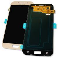 Дисплей Samsung A520F Galaxy A5 2017 + сенсор розовый GH97-19733D GH97-20135D (оригинал 100%)