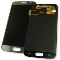 Дисплей Samsung G930F G930FD Galaxy S7 + сенсор серебристый GH97-18523B (оригинал 100%)