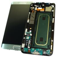 Дисплей Samsung G928F Galaxy S6 Edge Plus + сенсор и рамка, серебристый титан GH97-17819D (оригинал 100%)