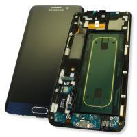 Дисплей Samsung G928F Galaxy S6 Edge Plus + сенсор и рамка, черный сапфир GH97-17819B (оригинал 100%)