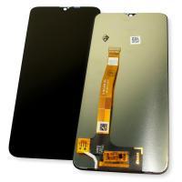 Дисплей Realme 5 Pro / Realme Q + сенсор черный (оригинальные комплектующие)