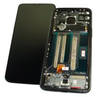 Дисплей OnePlus 7 + сенсор черный и рамка (оригинальные комплектующие)