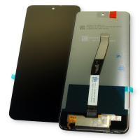 Дисплей Xiaomi Redmi Note 9S + сенсор черный (оригинал Китай)