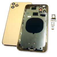Корпус iPhone 11 Pro Max золотистый (полный комплект)