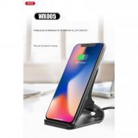 Беспроводное зарядное устройство XO WX005 настольно-вертикальное черное
