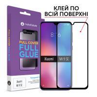 Защитное стекло MakeFuture для Xiaomi Mi 9 SE полноэкранное черное