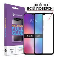 Защитное стекло MakeFuture для Xiaomi Mi 9 полноэкранное черное